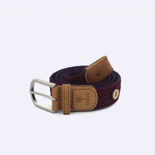 belt-ceinture-en-toile-rouge