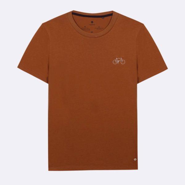arcy-t-shirt-col-rond-en-coton-coton-recycle-cognac