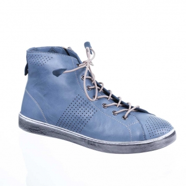 chaussure-montante-vintage-femme-cuir-bleu-coco-et-abricot-santee-denim