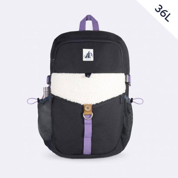 climber-bag-sac-a-dos-en-toile-polyester-recycle-marine-violet