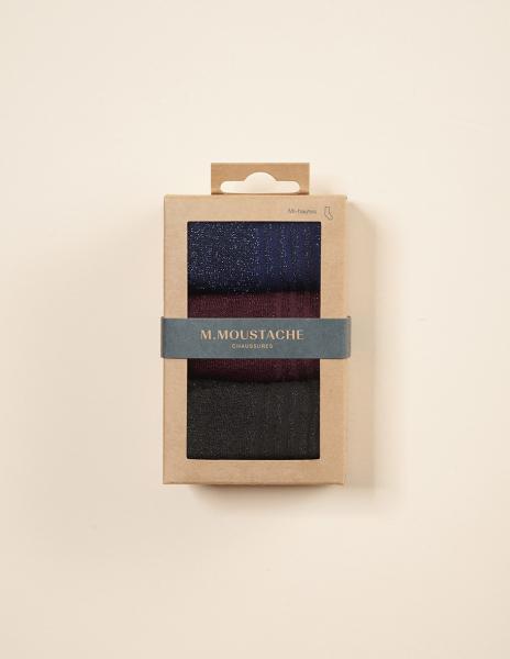 socks noir bordeaux bleu 1