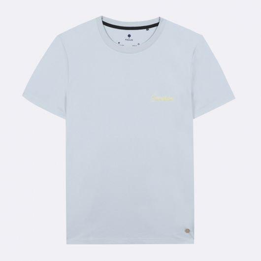 arcy-t-shirt-col-rond-en-coton-recycle-cocotier-bleu-ciel