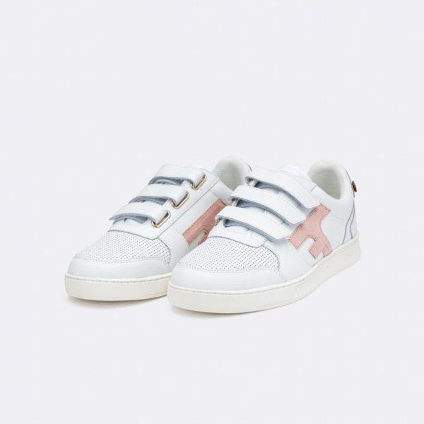 hazel-velcro-baskets-en-cuir-recycle-rose-pale (1)