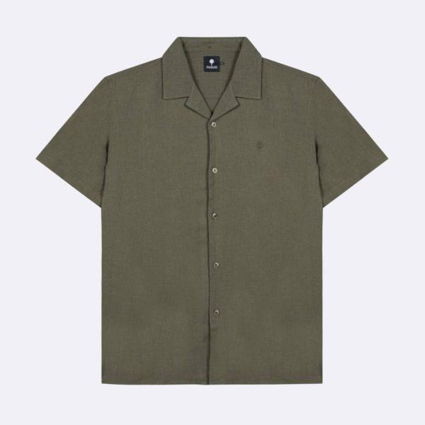 vimy-chemisette-en-coton-kaki-fonce