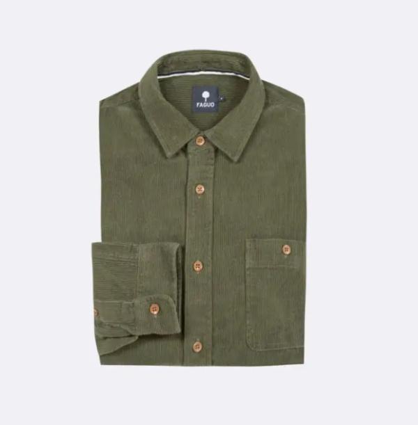 chemise velour vert 3