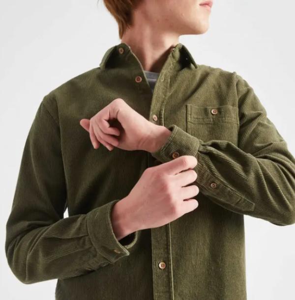 chemise velour vert 5